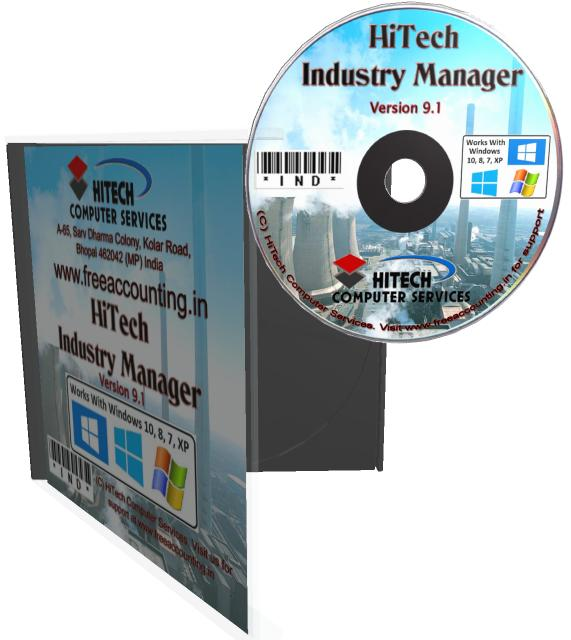 ERP, CRM and Accounting Software for Industry, Manufacturing units. Modules : Customers, Suppliers, Inventory Control, Sales, Purchase, Accounts & Utilities. Free Trial Download.